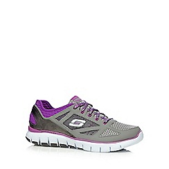 Skechers - Grey 'Skech-Flex Royal Forward' trainers