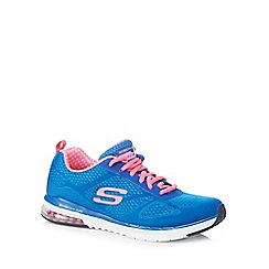 Skechers - Blue 'Air Infinity' lace up trainers