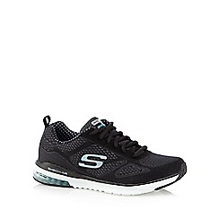 Skechers - Black 'Air Infinity' lace up trainers