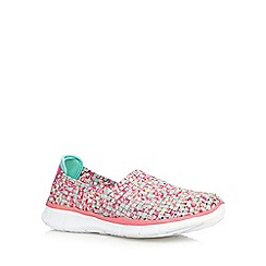 Skechers - Pink 'Equalizer Vivid Dream' trainers