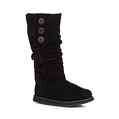 Skechers - Black 'Keepsakes Brrr' suede boots