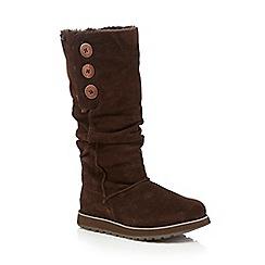 Skechers - Brown knee-high boots