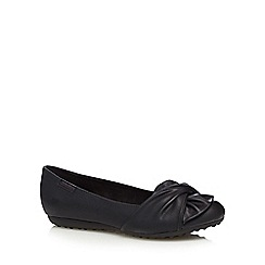 Rocket Dog - Black wrapped bow pumps
