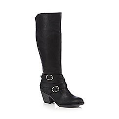 Rocket Dog - Black knee high boots