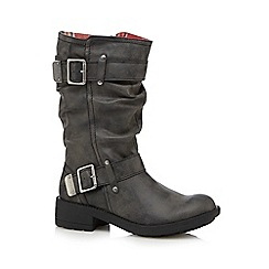 Rocket Dog - Black heeled boots