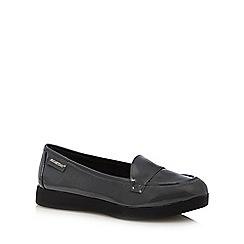 Rocket Dog - Dark grey patent loafers