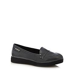 Rocket Dog - Dark grey patent loafers