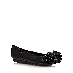 Rocket Dog - Black patent double bow pumps
