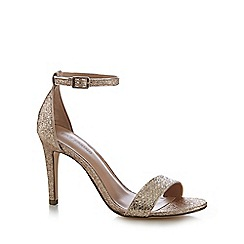 Call It Spring - Gold 'Waylanda' high sandals