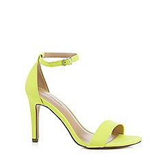 Call It Spring - Yellow 'Waylanda' high sandals