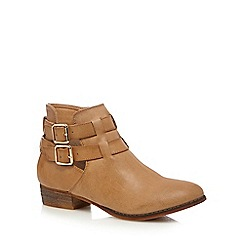 Call It Spring - Tan 'Yenalian' ankle boots