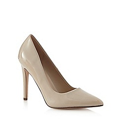 Call It Spring - Beige 'Coola' high stiletto heel pointed shoes