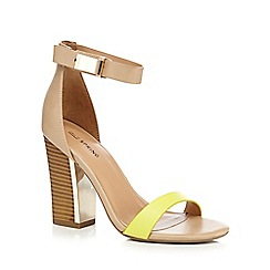 Call It Spring - Tan 'Carmeliene' high sandals