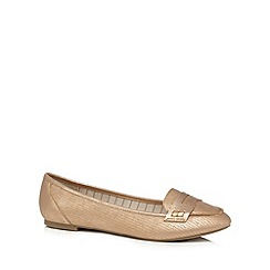 Call It Spring - Light pink 'Acaesen' flat slip on shoes