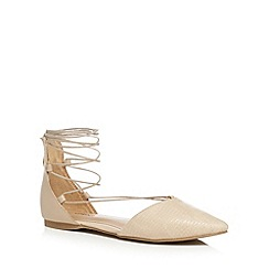 Call It Spring - Cream 'Cinnabar' gladiator sandals