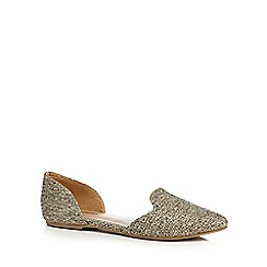 Call It Spring - Beige glitter 'Loane' pumps