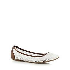 Call It Spring - White 'Olaviel' slip-on shoes