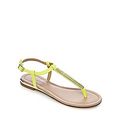 Call It Spring - Yellow 'Gwayrien' sandals