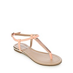Call It Spring - Coral 'Gwayrien' sandals