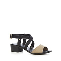 Call It Spring - Black 'Frawien' sandals