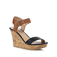 Call It Spring - Tan 'Isoline' wedge sandals