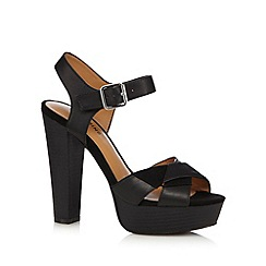 Call It Spring - Black 'Shefford' high platform shoes