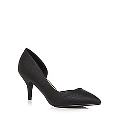 Call It Spring - Black 'Ulirasa' low court shoes