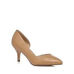 Call It Spring - Light tan 'Ulirasa' low court shoes