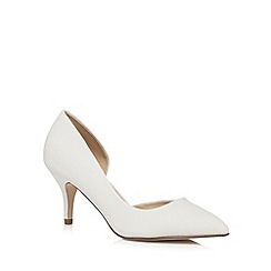 Call It Spring - White 'Ulirasa' low court shoes