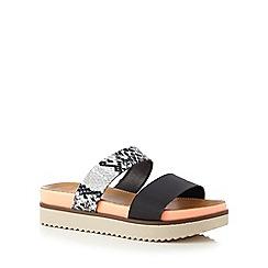 Call It Spring - Black 'Firasa' sandals