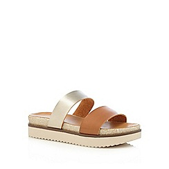 Call It Spring - Tan 'Firasa' sandals
