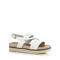 Call It Spring - White 'Nydudda' sandals