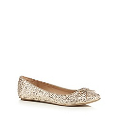Call It Spring - Gold 'Bender' flat shoes