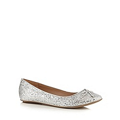 Call It Spring - Silver 'Bender' flat shoes