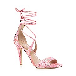 Call It Spring - Pink 'Eddusa' high sandals