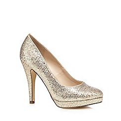 Call It Spring - Gold 'Gerou' high court shoes