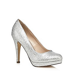 Call It Spring - Silver 'Gerou' high court shoes