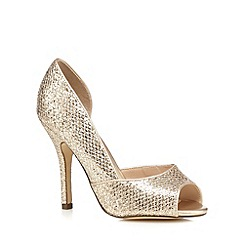 Call It Spring - Gold 'Gralini' high court shoes
