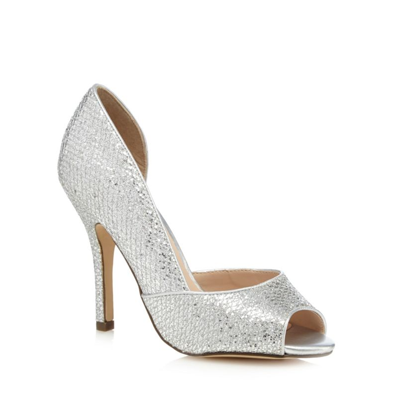 Call It Spring Silver Gralini high court shoes