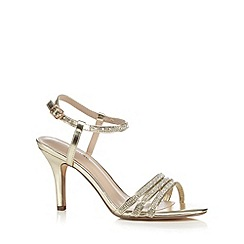 Call It Spring - Gold 'Kayana' sandals
