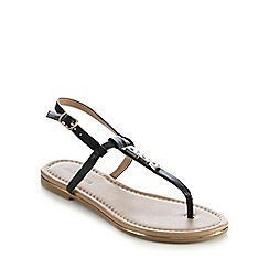Call It Spring - Black 'Lelu' flat sandals