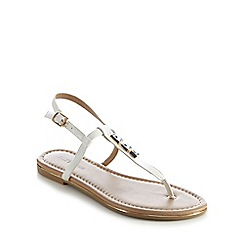 Call It Spring - White 'Lelu' flat sandals