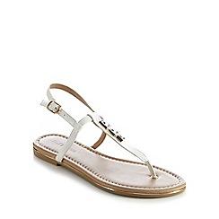 Call It Spring - White 'Lelu' flat sandals