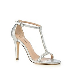 Call It Spring - Silver 'Midhurst' jewel embellished high sandals