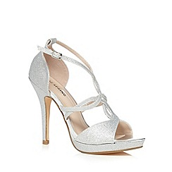 Call It Spring - Silver 'Whitefield' high sandals