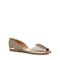 Call It Spring - Light gold 'Corboy' slip on shoes