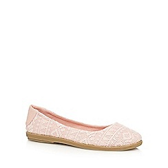 Call It Spring - Light pink 'Hattiesburg' flat shoes