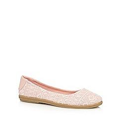 Call It Spring - Light pink 'Hattiesburg' flat shoes