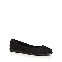 Call It Spring - Black 'Hattiesburg' flat shoes