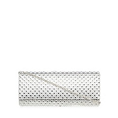 Call It Spring - Silver 'Nuce' jewelled clutch bag
